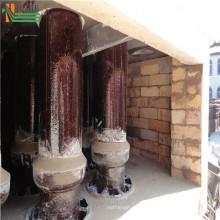 Máquina de colector de polvo de ciclón de tratamiento de gases de combustión