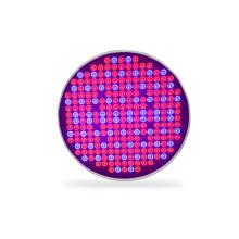 UFO rojo azul UV IR LED crece la luz