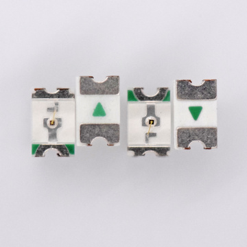 2012 SMD LED LED amarillo 590nm 0805 LED