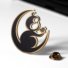 Best Selling Lapel Pins Custom Hard Enamel Badges Metal Crafts For Souvenir