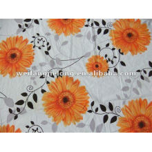 low price printed polyester fabric for bedsheet