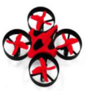 Mini drone quadcopter dengan WIFI