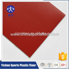 Alta qualidade profissional pvc esportes piso para quadra de tênis de mesa coberta