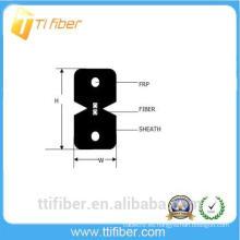 2 cables de fibra óptica de interior FTTH G657a2 con chaqueta LSZH