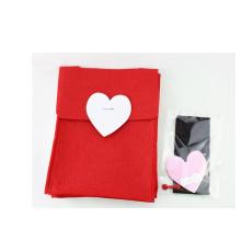 Malha de tecido de feltro mochila para crianças