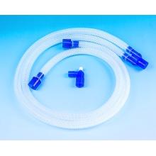 Connecteur de circuit Respiration jetable Respiration à alésage lisse