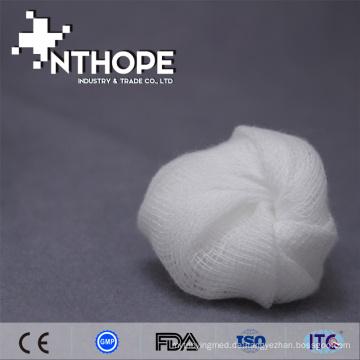 Medizinischer wegwerfbarer chirurgischer Gaze-Ball mit Röntgenstrahl