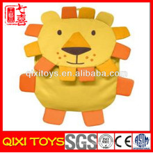 custom made stuffed animals soft plush lion backpack