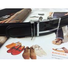 Men Ratchet Leather Belts (YC-150609)