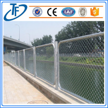 Playground galvanized or stainless steel chain link fence