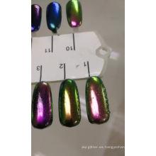 Color shifing pigmento camaleón en polvo para pigmento de pintura automática