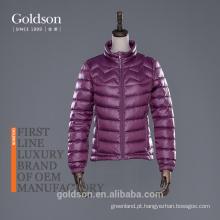 2017 Mulheres jaqueta para inverno