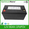 Deep Cycle 12V 80ah Lithium Battery for Solar Street Light