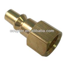 Connecteur rapide d'outils pneumatiques 1/4 po en laiton ARO Type
