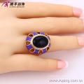 13717 xuping anillo al por mayor del color de la manera de la joyería de la fábrica de China con el color plateado oro 18k para las mujeres