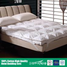 Las capas dobles desprendibles superventas espesan la almohadilla de colchón para el invierno