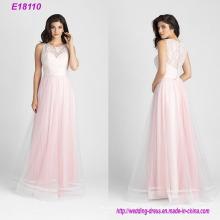 Розовый 2017 Женская Мода Шифон Платье Невесты
