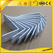 Perfil de alumínio do fornecedor 6063 da fábrica com processamento profundo do CNC