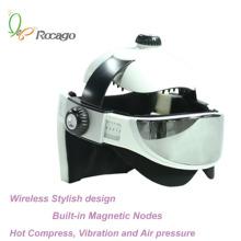 Massager magnético sem fio do corpo da massagem da cabeça do aquecimento