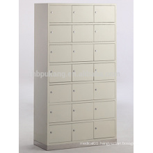 21-door medical cupboard with stainless steel base for shoes G-20