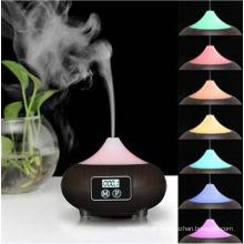 2016 neueste Büro Aroma Diffusor Holz Luftbefeuchter mit Print Brand Logo