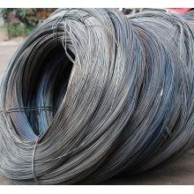 Arame recozido preto macio para fazer unhas, unhas de arame preto, unhas fazendo fio de aço