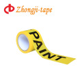 new raw material yellow barricade caution tape