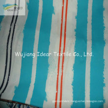 75DX200D Printed Plain Polyester Microfiber Peach Skin Fabric For Home Textile