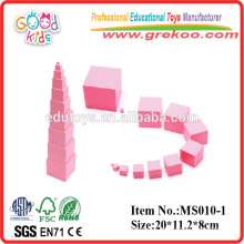 Montessori toys Pink Tower