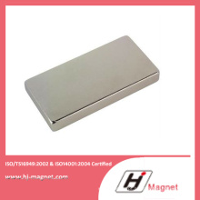Bloco rara terra ímã de NdFeB magnético com alta qualidade fabricado pela fábrica de China