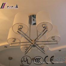Six Lights Lantern Shape Metal Decorative Pendant Lamp
