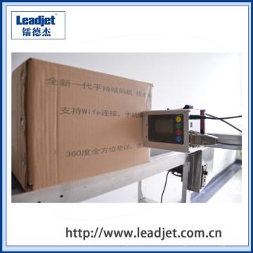 codificador portátil de la fecha de la impresora del PDA para el dispositivo de la impresora de la codificación del cartón