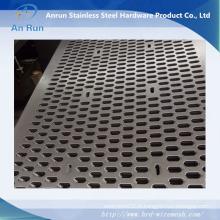 Panneau à courants perforés en aluminium pour rideau mur