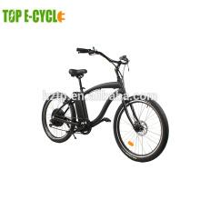 1000 watt bicicleta elétrica cruzador de praia estilo retro santa cruz bicicleta