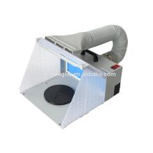 HS-E420DCLK hobby spray booth spraying airbrush extractor
