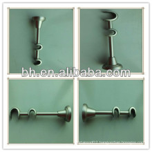 Durable bronze iron single curtain rod bracket