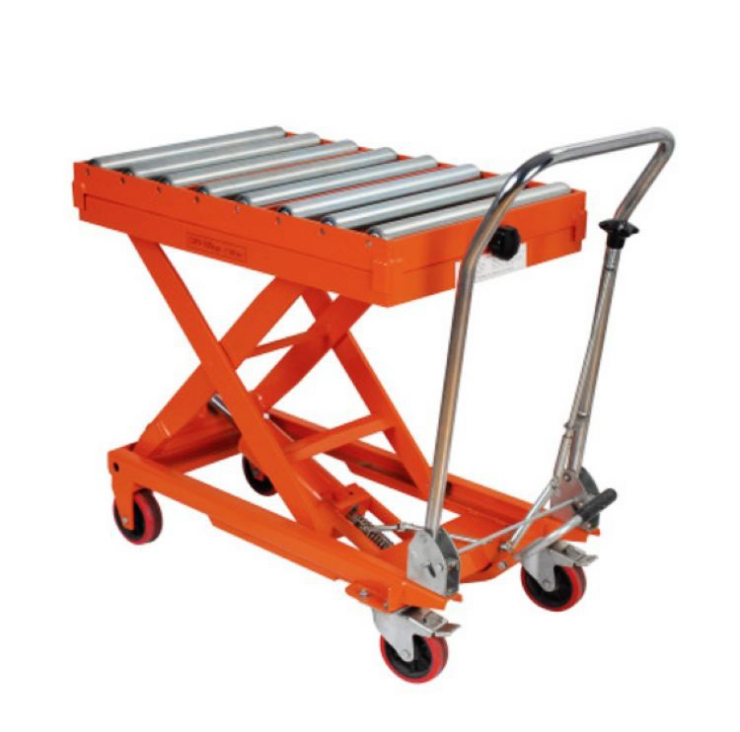 Customized Roller Table Mobile Mini Lift Trolley