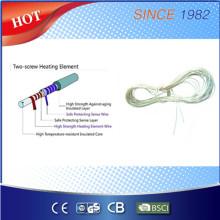 Helix dupla com temperatura que deteta o elemento elétrico do aquecimento da cobertura