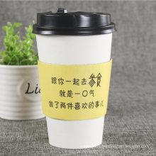 Custom Logo Print Kraft Paper Coffee Cup Sleeve