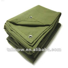 waterproof, venting and mildew proof canvas tarpaulin for cover