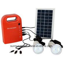 Mini système d'éclairage solaire portable pour éclairage intérieur ou à domicile