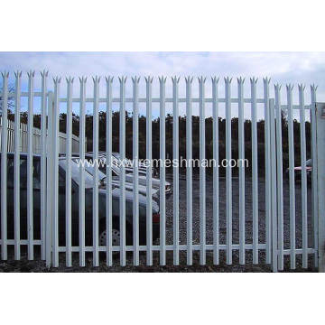 Palisade fence panels