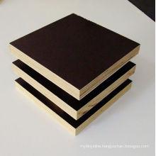 18mm Black Browm Film Faced Plywood / Construction Plywood