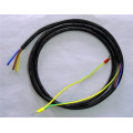 Automotive accessories display rack wiring harness ring connector power cable