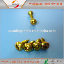 Wholesale china trade flat head colored chipboard screw