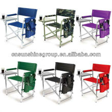Doblado de metal o aluminio silla de director