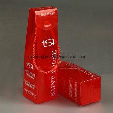 Таможня напечатала бумажную коробку пластиковую с окном PVC (коробка вина)