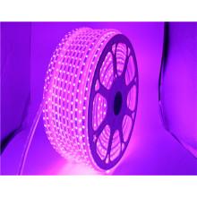 110V input 16 colors high brightness 60led/m IP65 waterproof RGB 5050 smd led strip