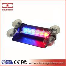 Para-brisa-montagem Interior luz LED aviso viseira azul claro (SL36S-V)