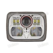 5X7 12V 85W CREE LED Faro de haz sellado